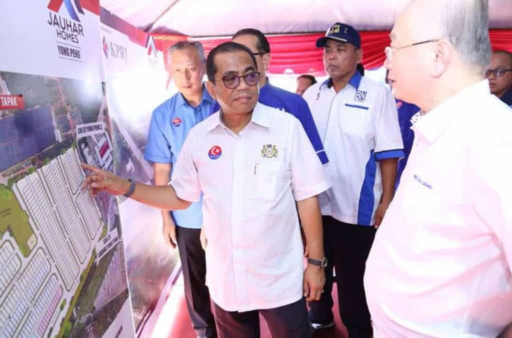 Majlis-Pecah-Tanah-Rumah-Mampu-Milik-Johor-(RMMJ)