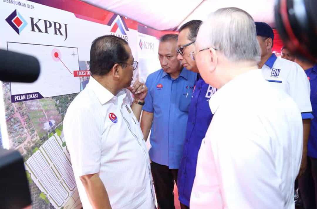 Majlis-Pecah-Tanah-Rumah-Mampu-Milik-Johor-(RMMJ)-2
