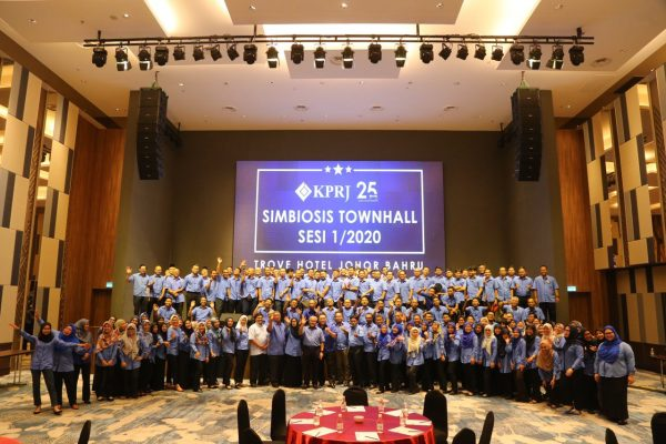 SYMBIOSIS TOWNHALL SESI PERTAMA 2020